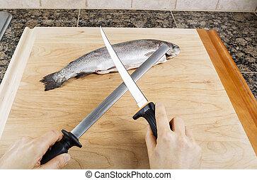 Sharpening Fillet Knife