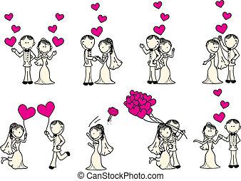 images et illustrations de mariage 208 681 illustrations. Black Bedroom Furniture Sets. Home Design Ideas