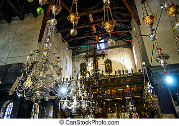 Church of the Nativity, Bethlehem - Decoration of the Church...
