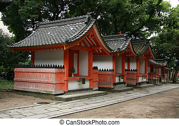 Sumiyoshi Taisha Shrine, Osaka, Japan