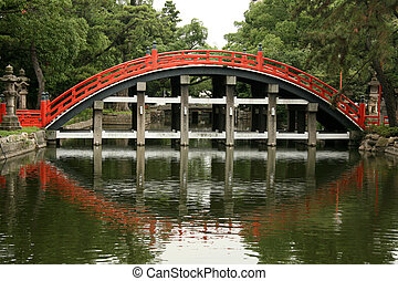 Bridge - Sumiyoshi Taisha Shrine, Osaka, Japan