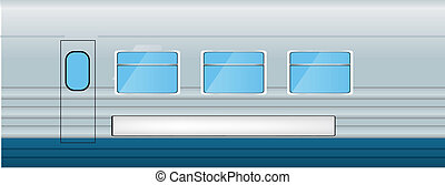Train vector illustration
