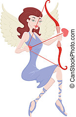 Cupid Angel Vector