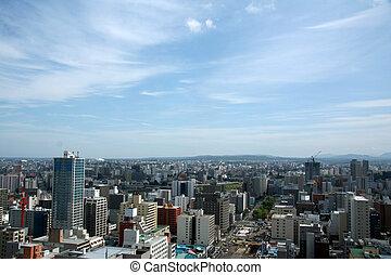 Sapporo Cityscape,Sapporo, Northern Japan