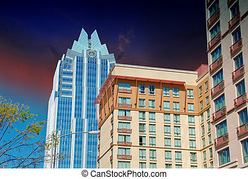 Skyscrapers of Austin, Texas