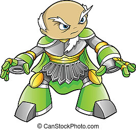 Warrior Ninja Soldier Alien Cyborg