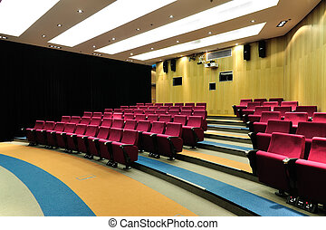Empty lecture theater