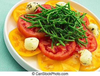 Hawaiian Caprese Salad