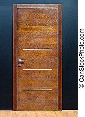 Door brown