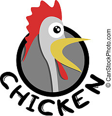 Chicken icon - Creative design of chicken icon