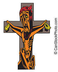 Abstract Crucifixion