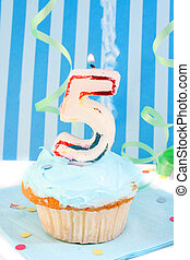 boy\\\'s fifth birthday - boy\\\'s fifth birthday cupcake...