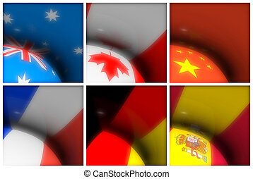 World Flags Collection - A collection of world flags for...