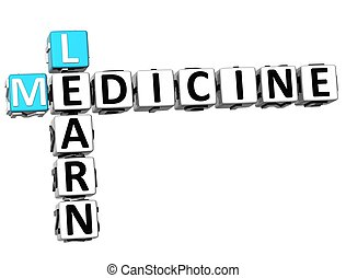 3D Learn Medicine Crossword