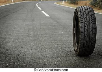 car, Pneu, estrada