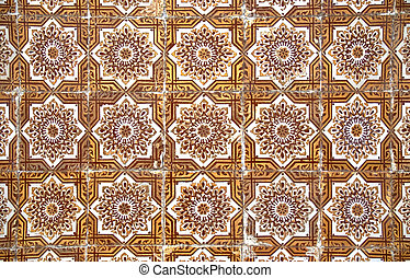 Ceramic tile design - Backgrounds and textures: Intricate...