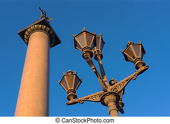 architectural geometry - lanterns and the Alexander Column...