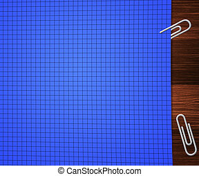 Blue Office Paper Background