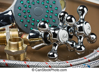 bathroom fixtures and fittings are of different construction