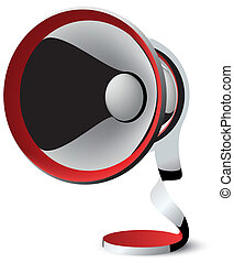megaphone vector abstraction - megaphone vector abstract...