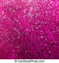 Amazing template design on pink glittering. EPS 8 - Amazing...