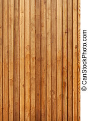 Wooden Panel - Vertical pine wooden panels used for...