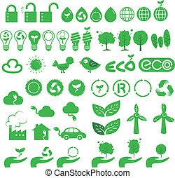 icons of green