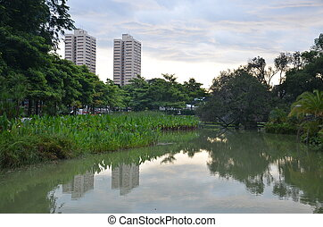 Buildings in central Singapore - A couple of high rise...