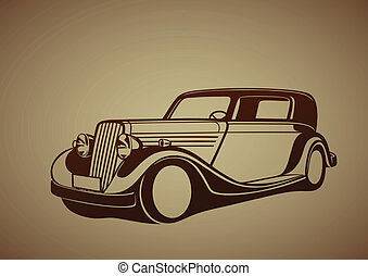 Classic antique car