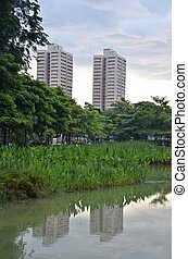 High rise buildings in Singapore - A couple of high rise...