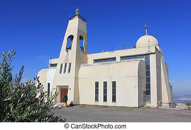 The New Maronite Church in Nazareth , Israel