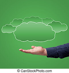 choice concept of cloud computing