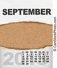 Calendário,  vertical,  2013, ano