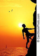 Man climber