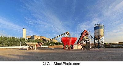 Concrete Plant - Concrete batch plant device for...
