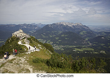 Eagles Nest - Berchtesgaden - Hilters hideout among the Alps...