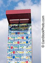 modern architecture - Colorium building in Dusseldorf Media...