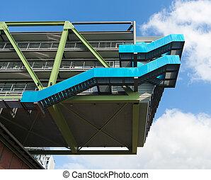 modern architecture - PEC Port Event Center or Wolkenb?gel...