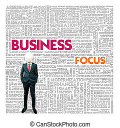 Business word cloud for business and finance concept,...
