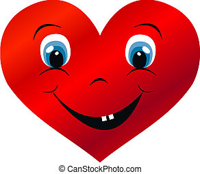 a big happy heart love valentines day