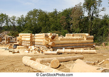 Log Home Construction -  Log Home Construction