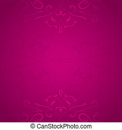 Retro styled pink vector background