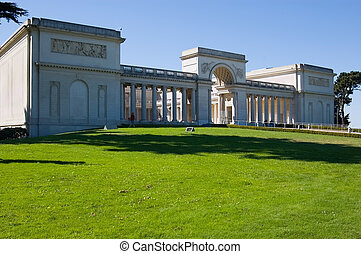 San Francisco - California Palace of the Legion of Honor in...