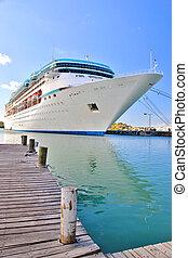 Cruise ship docked 3