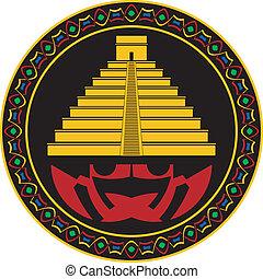 ancient maya pyramid