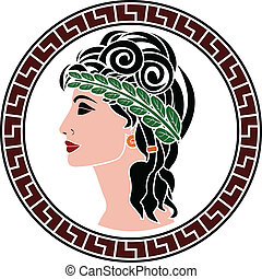 patrician women stencil first variant
