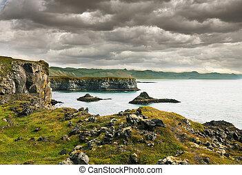Icelandic coast - icelandic coast