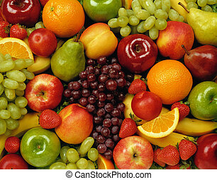 fruits on table