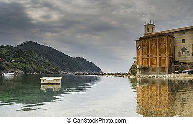 bay of silence, Sestri Levante, Lig