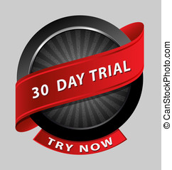 30 days trial design element - Originally created 30 days...